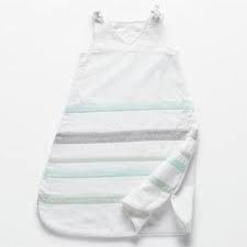 Coyuchi Jersey Sleep Sack, Stripe