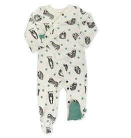Finn & Emma Sloth Allover Print Footie