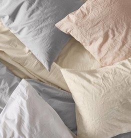 Crinkled Percale Sheet Set
