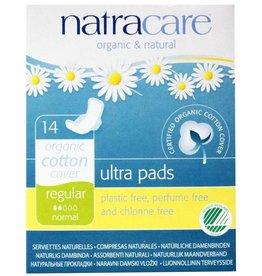 Natracare Ultra Pad Regular w/Wings