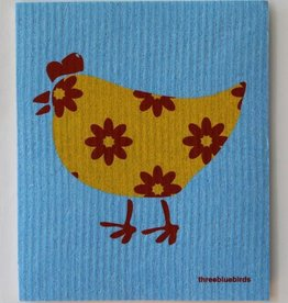 Three Bluebirds Swedish Towels- Animal Designs
