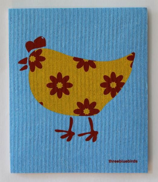 Three Bluebirds Three Bluebirds Swedish Towels- Animals