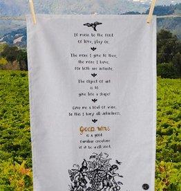 SIP Goods Sip Shakespeare Bar Towel