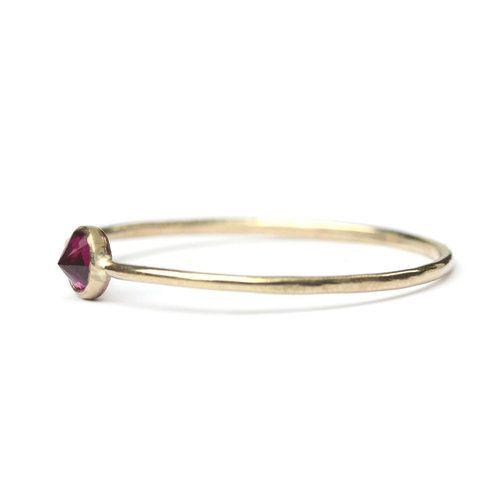 Favor Jewelry Garnet Spike Ring
