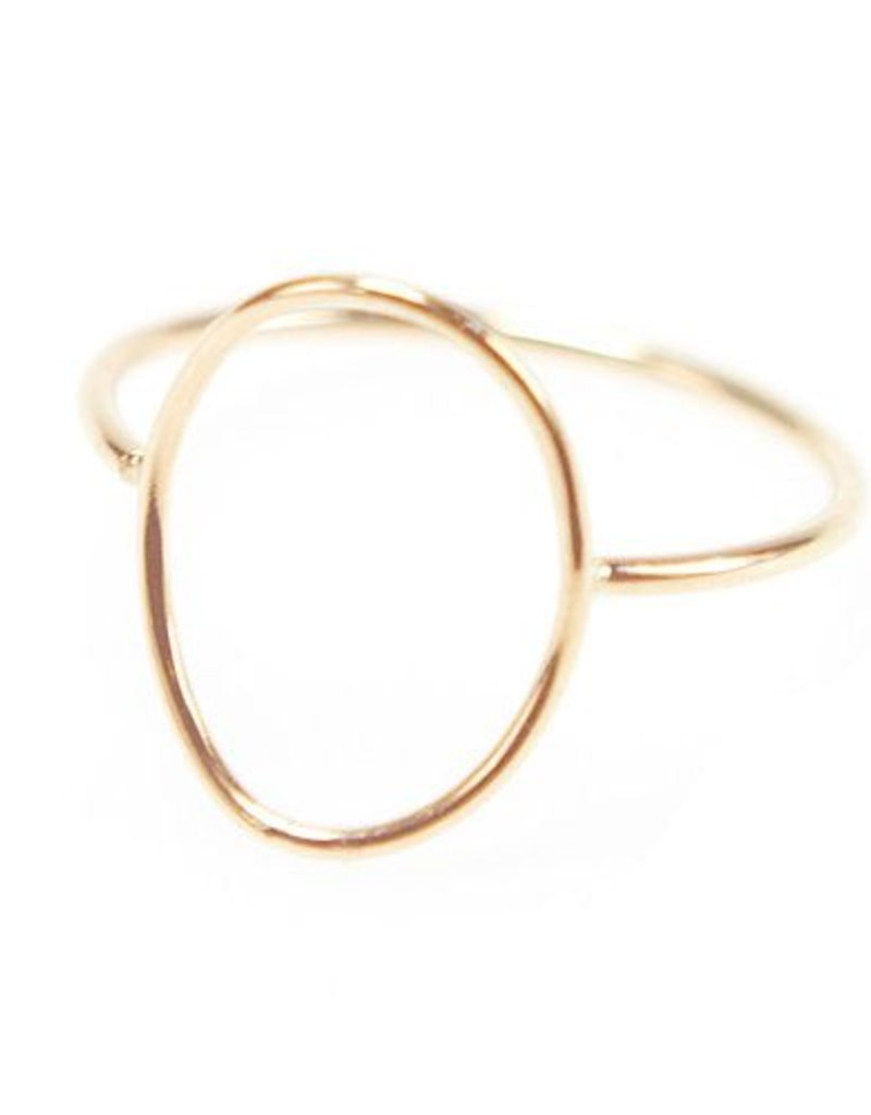 Favor Jewelry Shaped Oval Ring