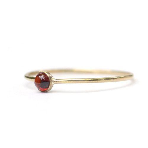 Favor Jewelry Garnet Micro Dot Ring