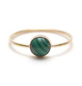 Favor Jewelry Gumdrop Ring Gold