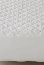 Organic Cotton Mattress Pad- Fitted Style-