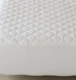 Organic Cotton Mattress Pad- Fitted Style-