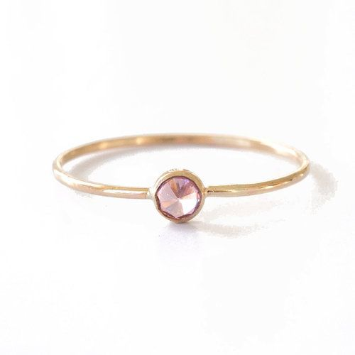 Favor Jewelry Pink Spike Ring