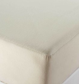 Organic Flannel Mattress Protector-