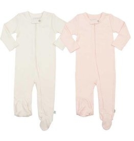 Finn & Emma Basic Footie 2 Pack-