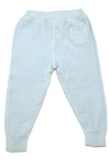Viverano Milan Flat Knit Legging- Sky Blue