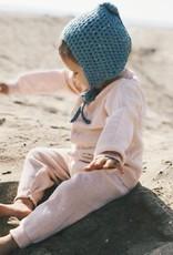 Viverano Milan Flat Knit Legging- Blush