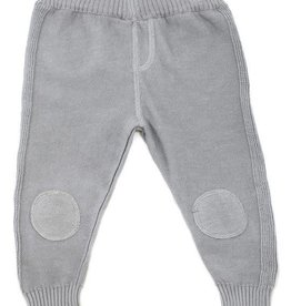 Viverano Milan Flat Knit Legging- Grey