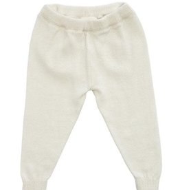 Viverano Milan Flat Knit Legging- Cream
