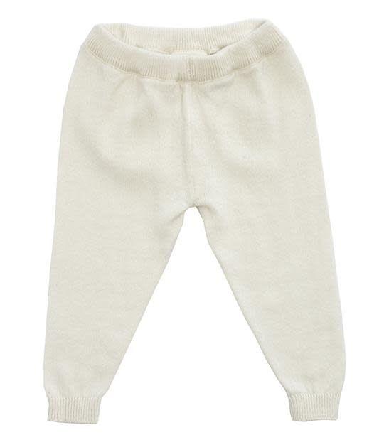 Viverano Milan Flat Knit Legging- Cream