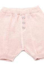 Viverano Milan Flat Knit Shorts- Blush