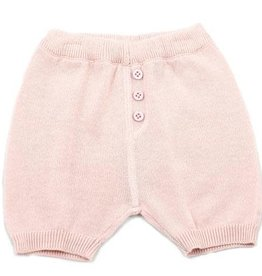 Viverano Milan Flat Knit Shorts- Blush