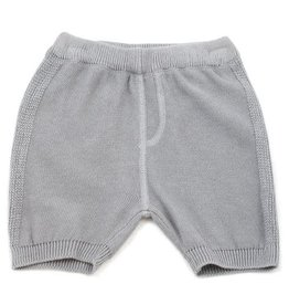 Viverano Milan Flat Knit Shorts- Grey