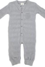 Viverano Milan Flat Knit Jumpsuit- Grey