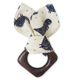 Finn & Emma Dinos Teething Ring