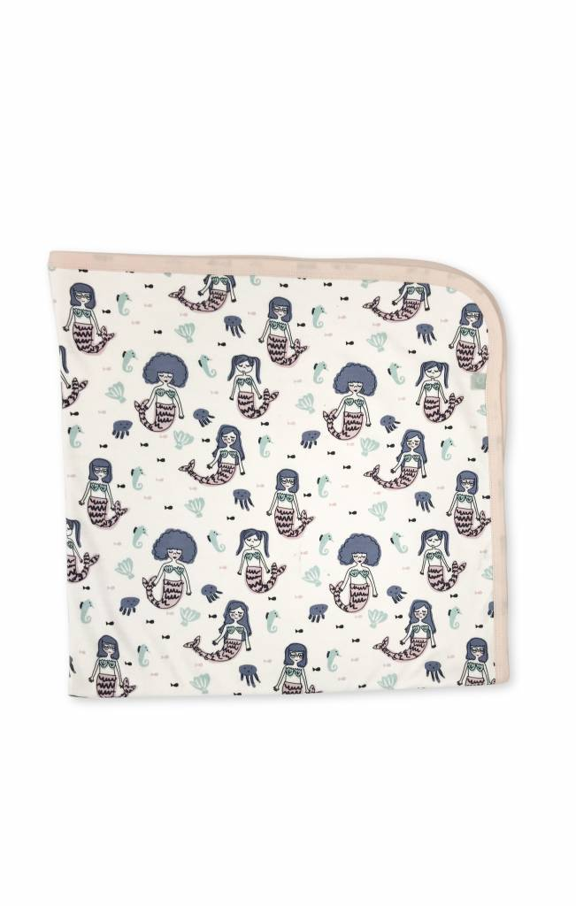 Finn & Emma Mermaid Swaddle Blanket