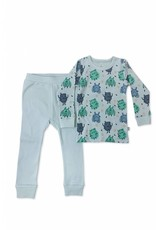 Finn & Emma Monsters PJ Set 2T