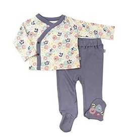 Finn & Emma Wildflower Kimono & Pant Set