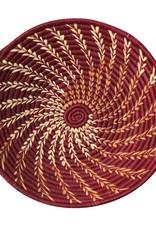 Raffia Spiral Baskets