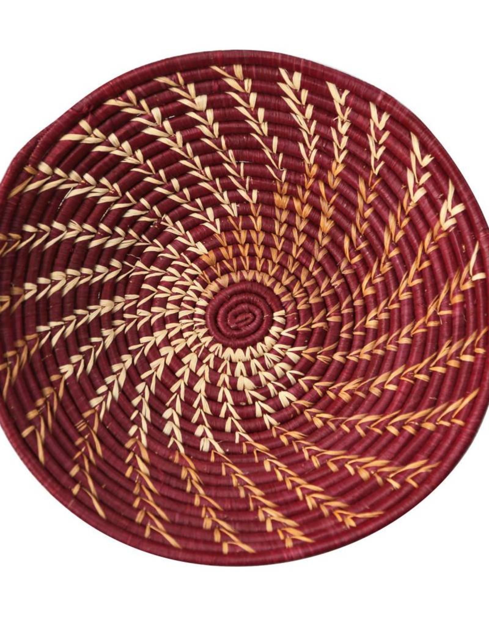 Raffia Spiral Baskets - 4 Colors!