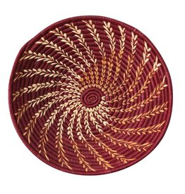 Raffia Spiral Baskets - 4 Colors!