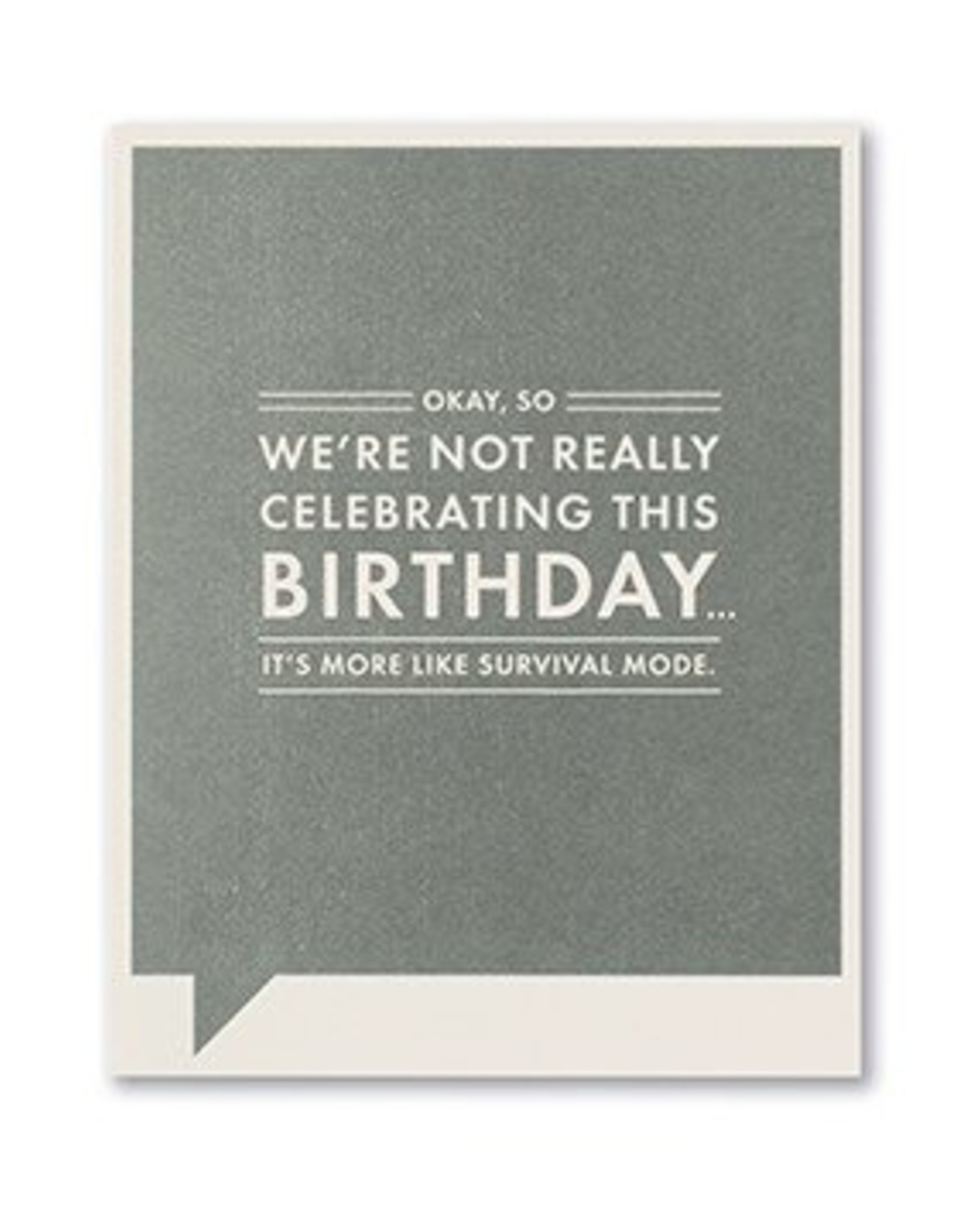Frank & Funny Birthday Card- 6557