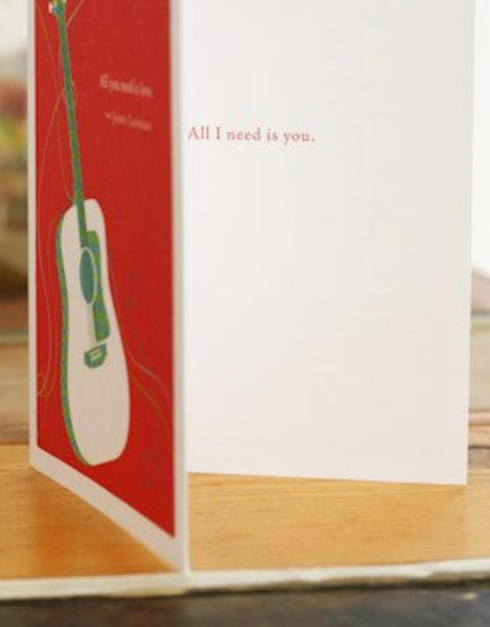 Love & Friendship Card- 4447