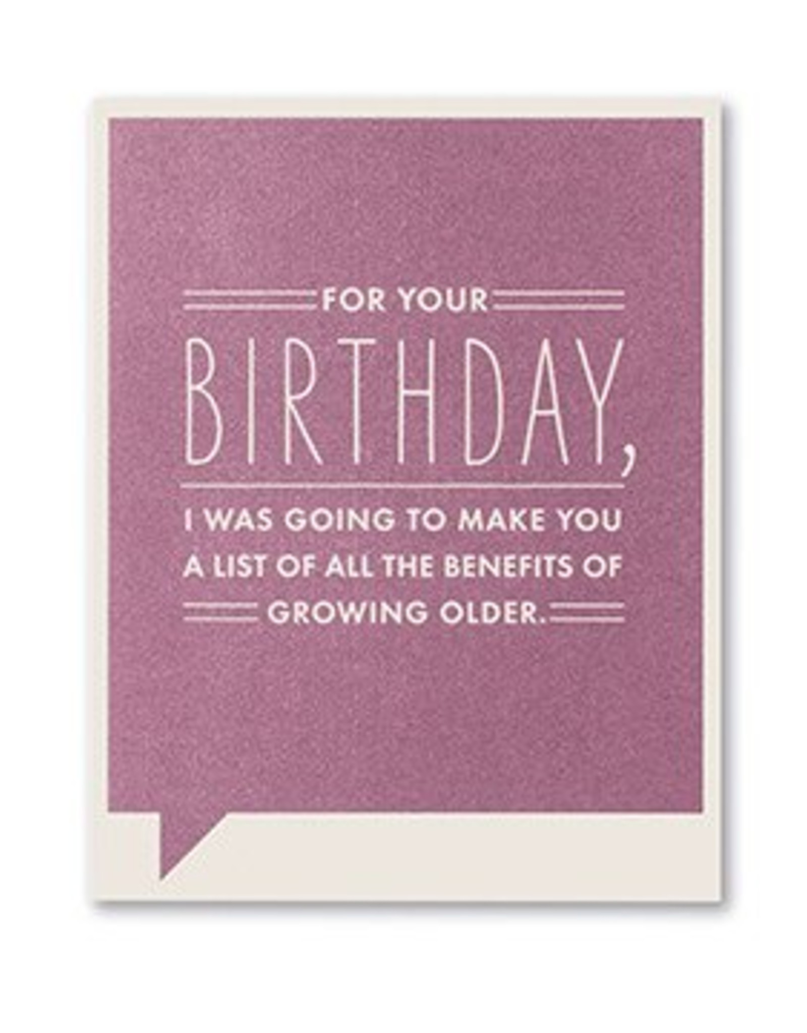 Frank & Funny Birthday Card- 4719
