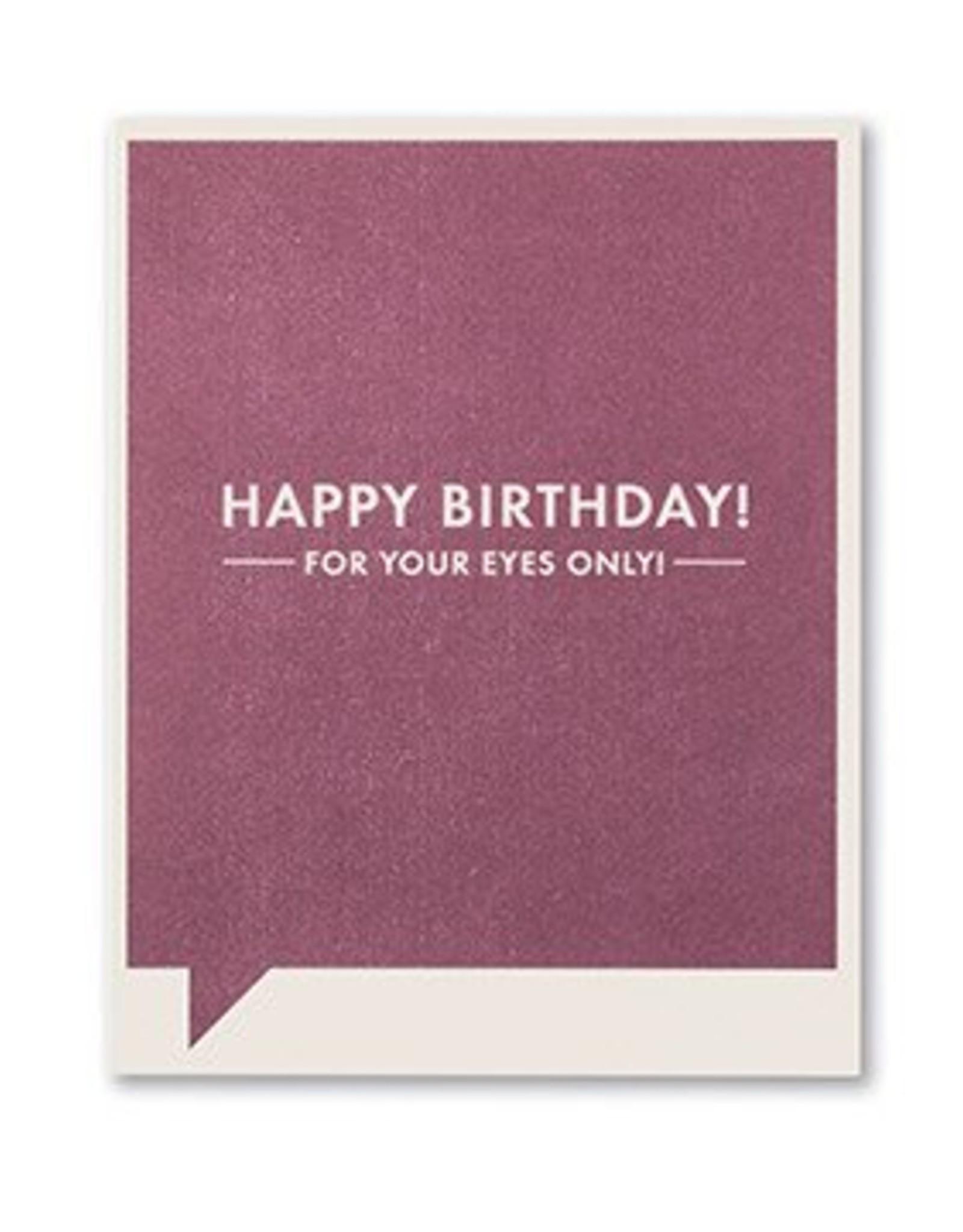 Frank & Funny Birthday Card- 4723