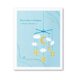 New Baby Card- 6366