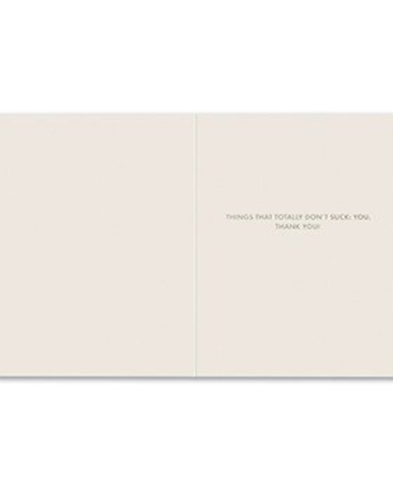 Frank & Funny Thank You Card- 6218
