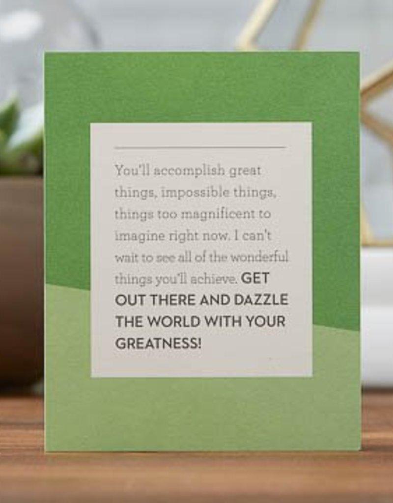 Goodbye & Good Luck Card- 6572
