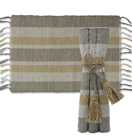 Vetiver Table Linens- Indian Summer