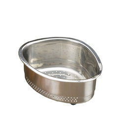 Stainless Steel In-Sink Corner Sink Basket