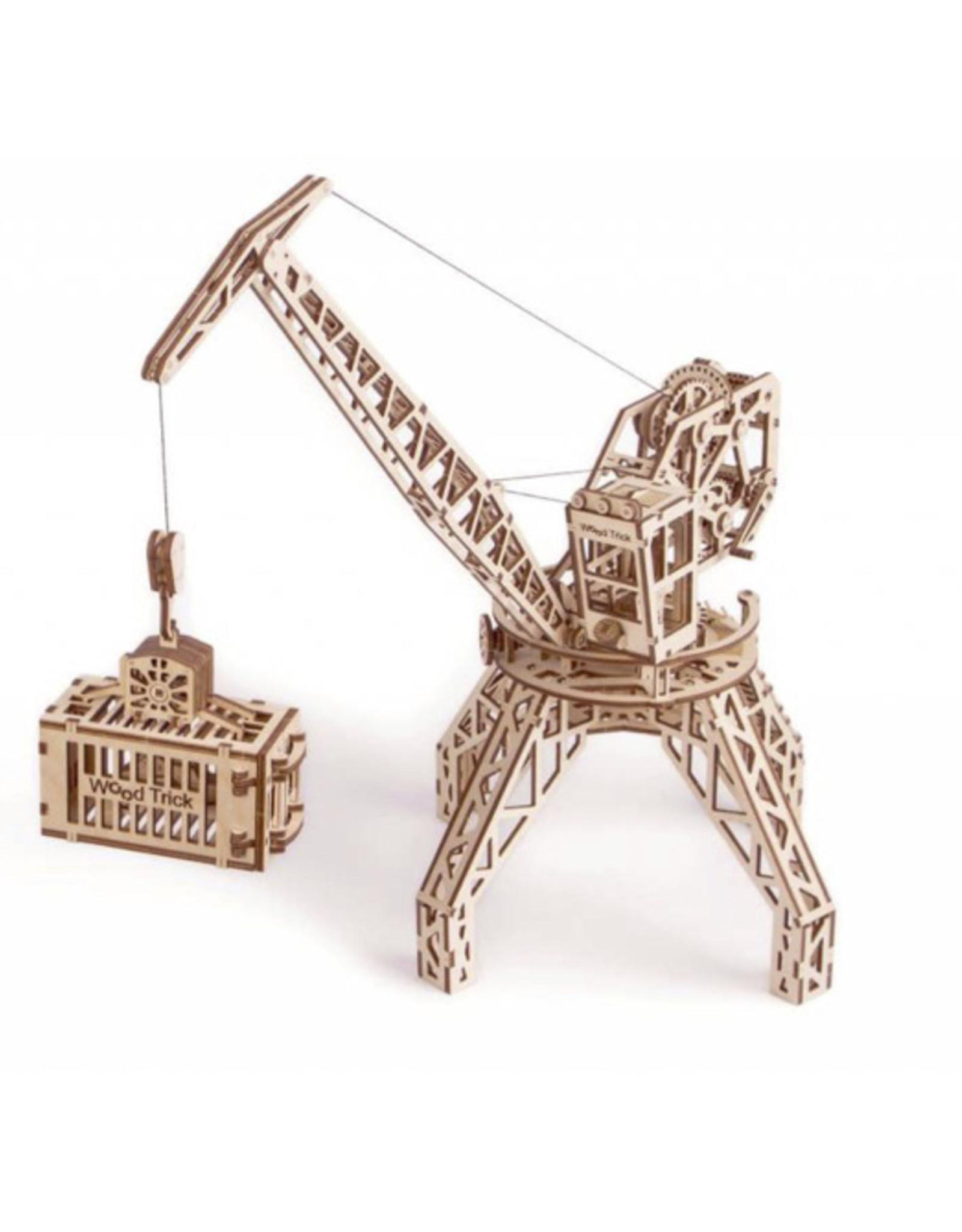 Wood Trick Wood Model- Crane