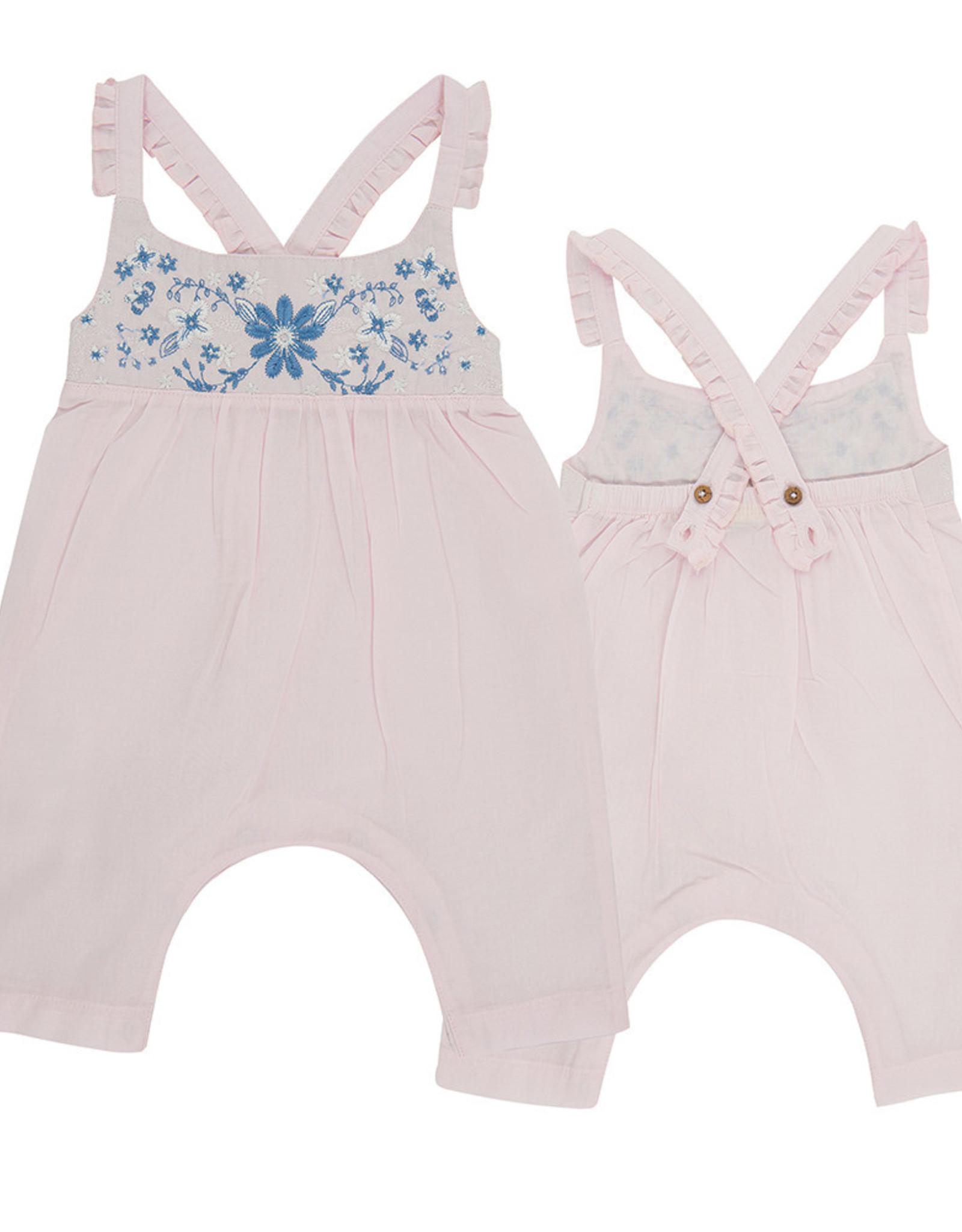 Tiny Twig Roxanne Sun Suit- Pink 12-18m