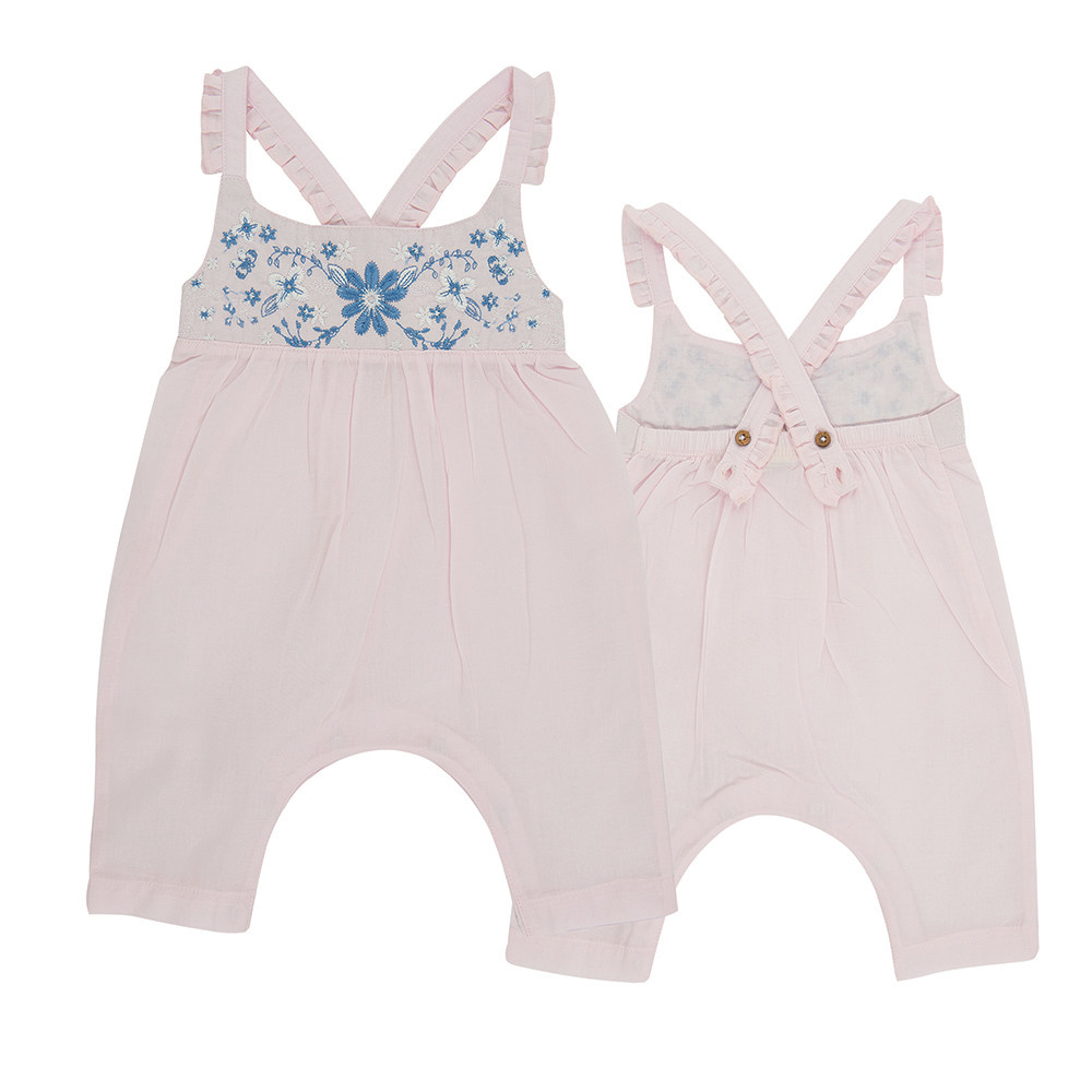 Tiny Twig Roxanne Sun Suit- Pink