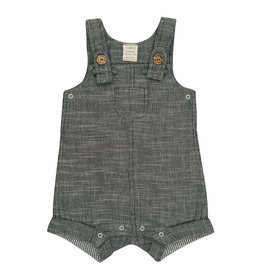 Tiny Twig Overall- Gray Chambray
