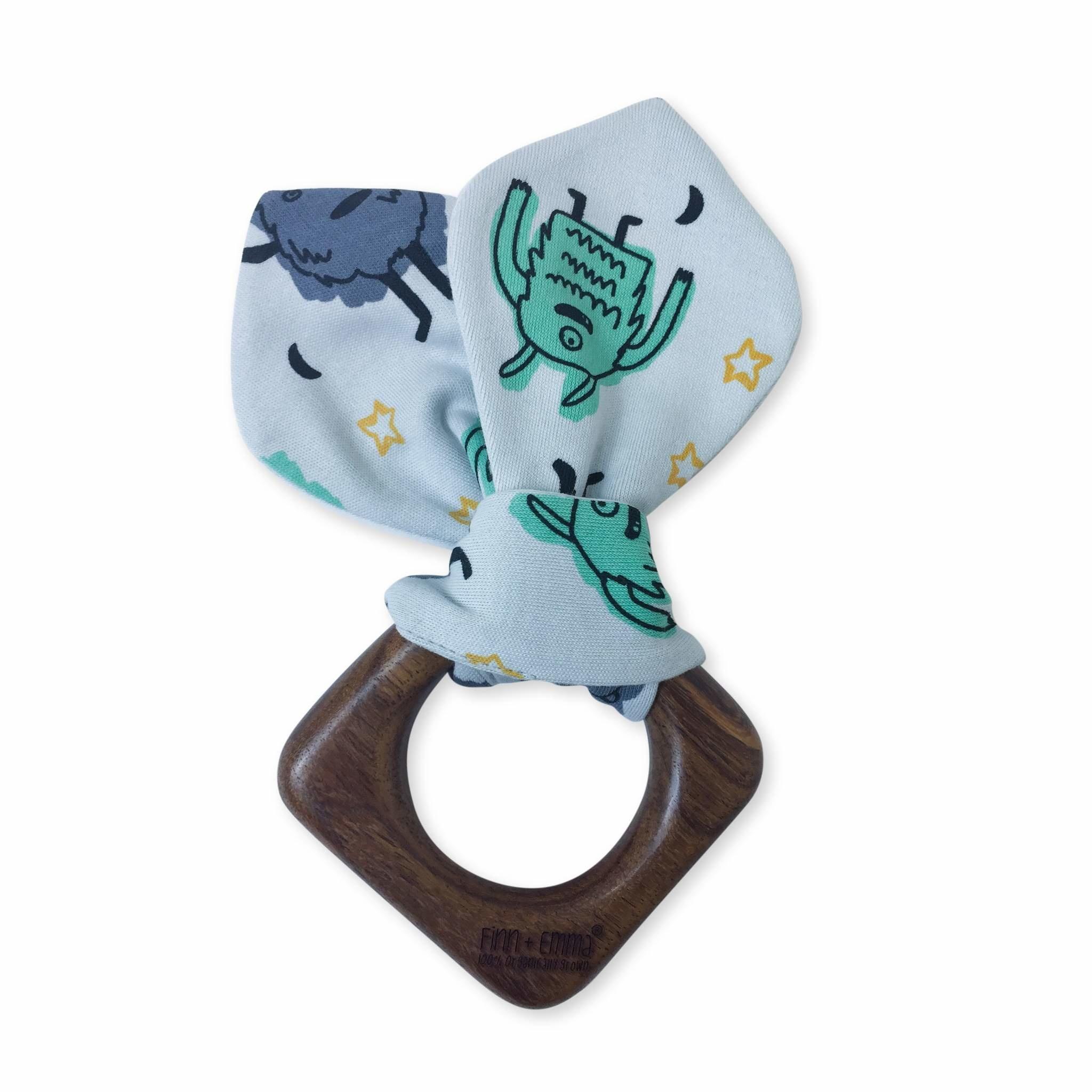 Finn & Emma Monster Teething Ring