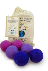 Friendsheep Wool Eco Wool Kitty Ball- Set of 6