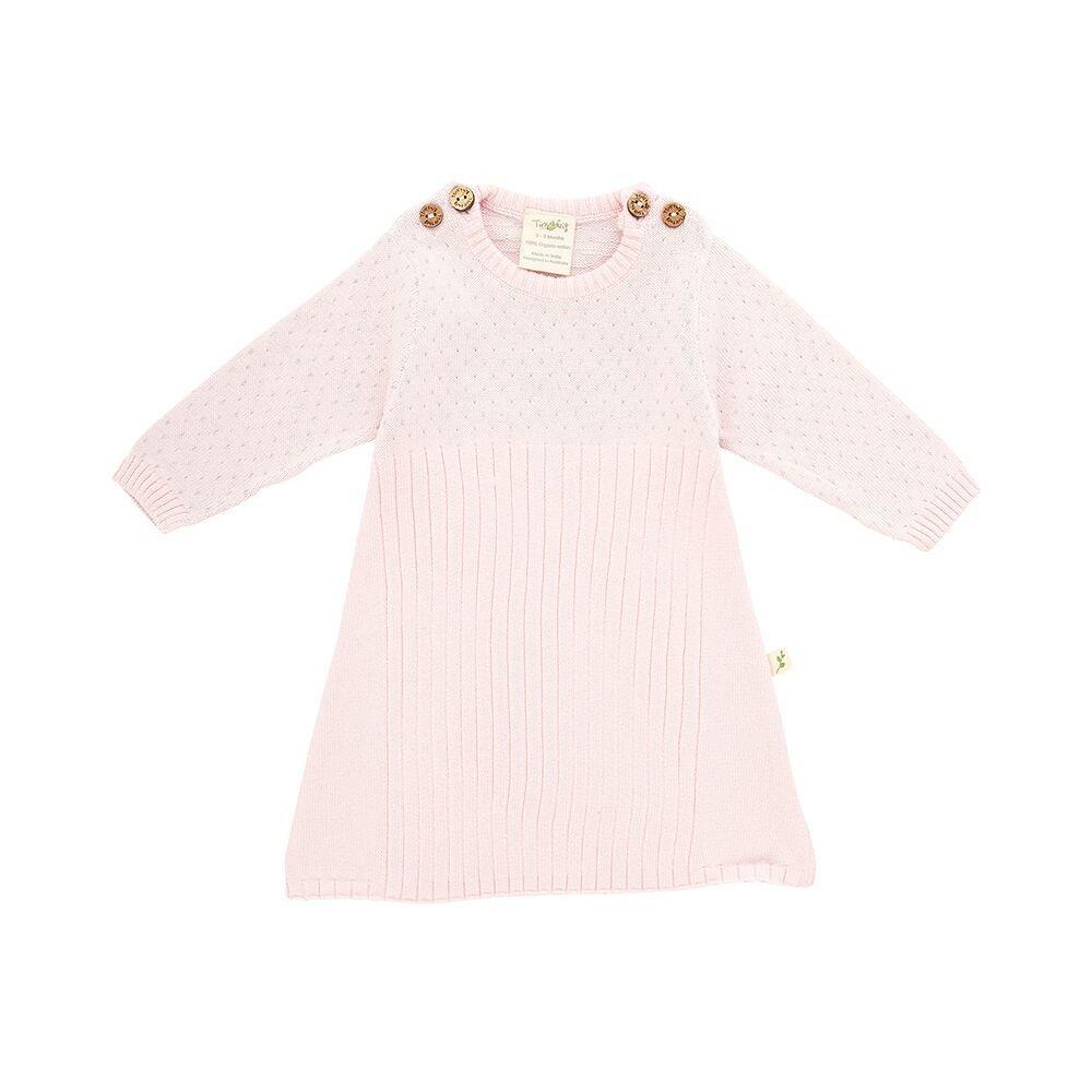 Tiny Twig Knit Jacquard Dress