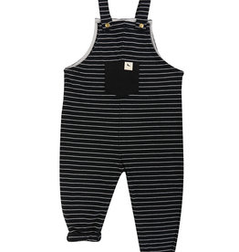 Turtledove London Black Stripe Dungaree 5-6y