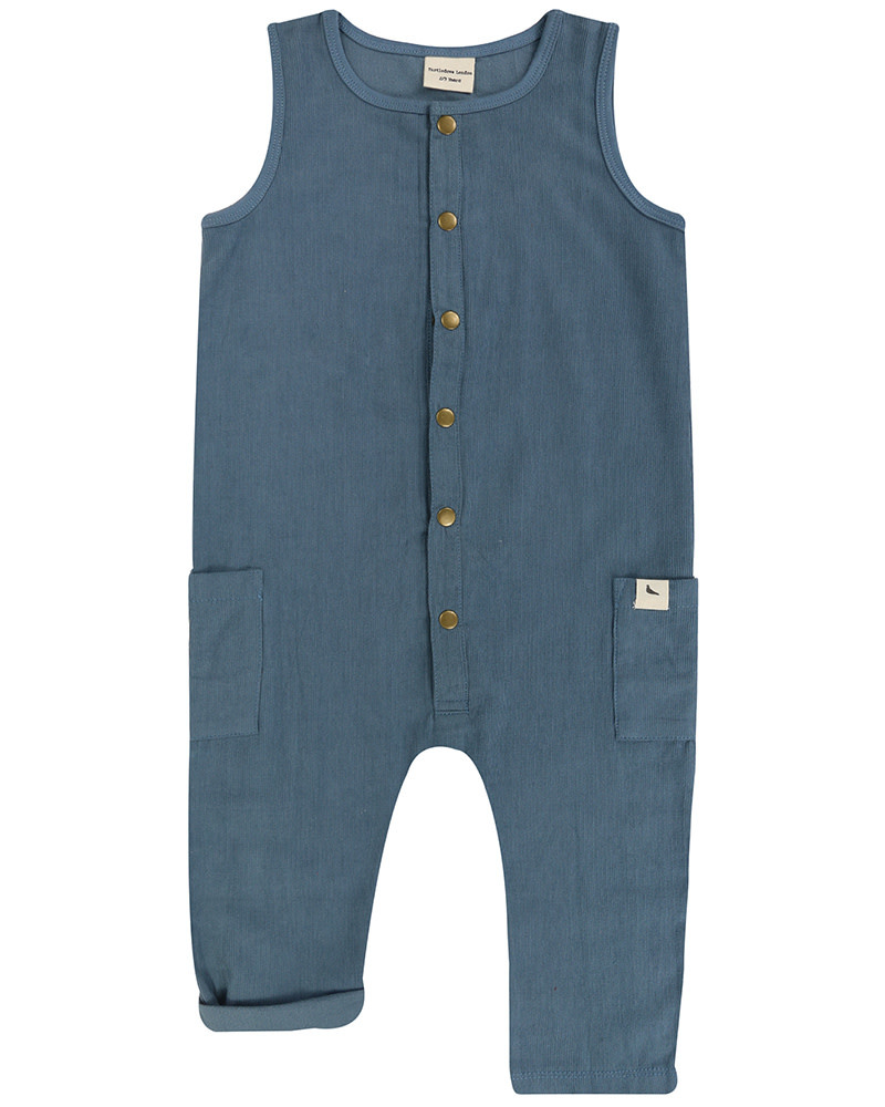 Turtledove London Cord Tank Dungaree
